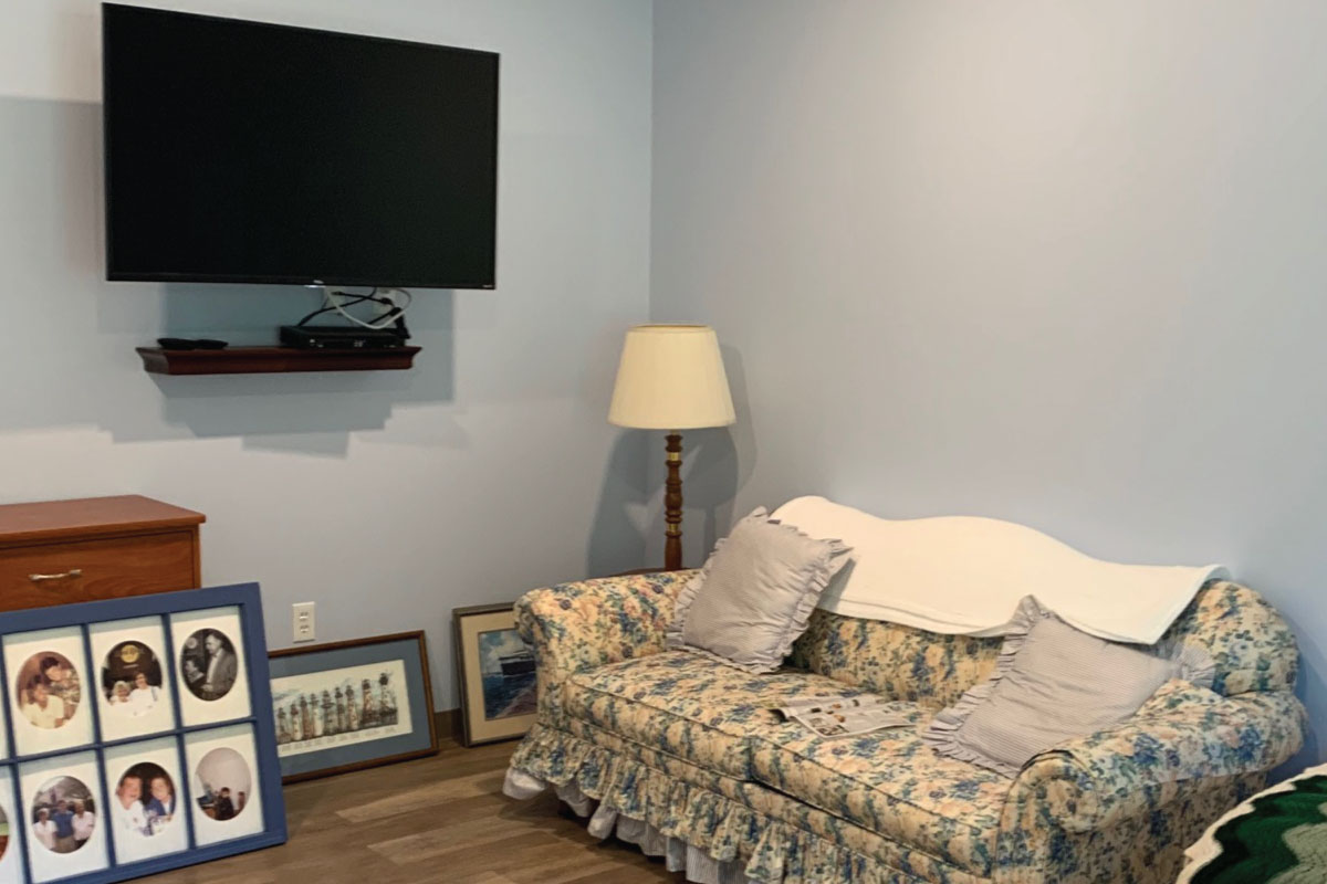Village Manor Assisted Living bedroom